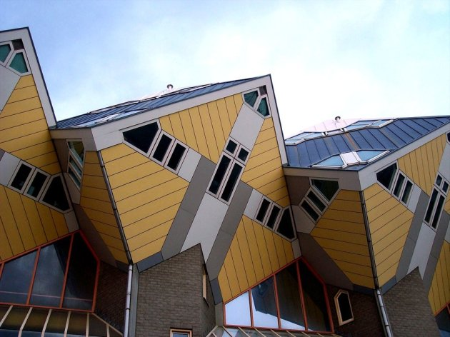 Cubical Houses Rotterdam