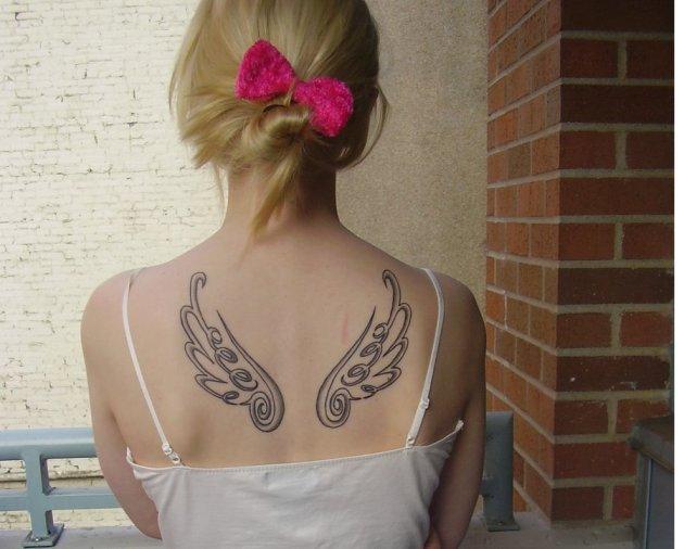 Final fantasy Wing Tattoo