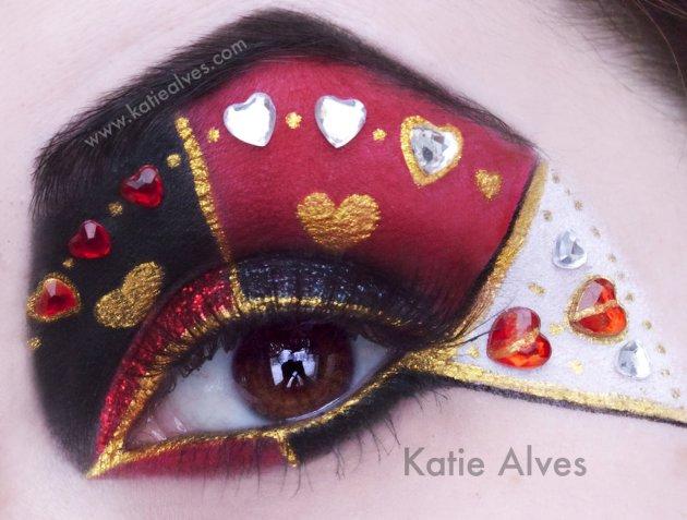 Alice In Wonderland Inspired Eye Makeup