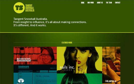 Green Website Design - Tangent Snowball