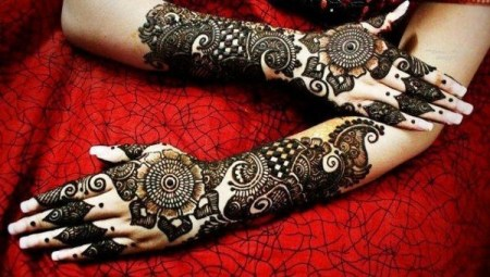 Arabic Henna Design For Eid Ul Fitr