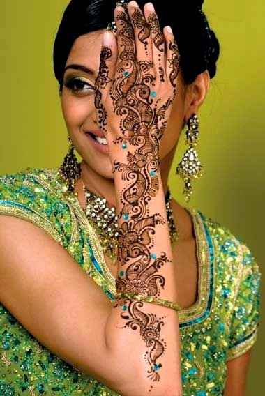 Mehndi Design For Chand Raat