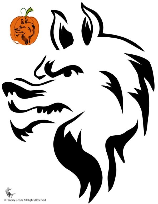 Halloween Pumpkin Stencil