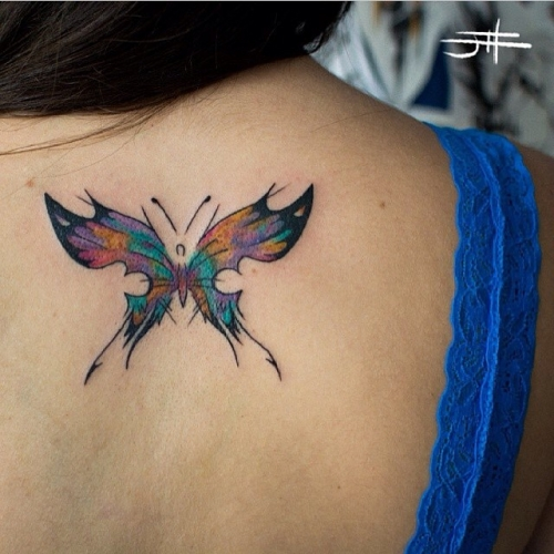 amazing butterfly tattoo