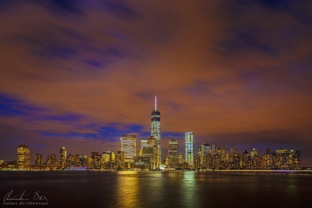 New York WTC Skyline