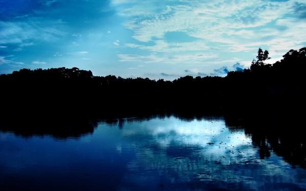 blue nature sky
