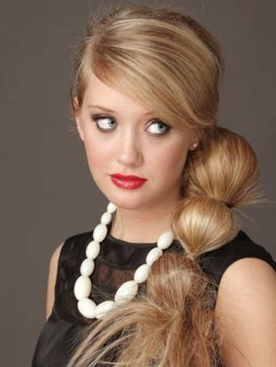 Pony Tail Long Hairstyle