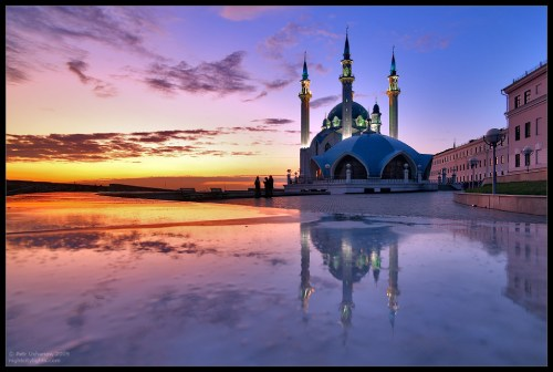 Russia, Kazan, Qolşärif mosque