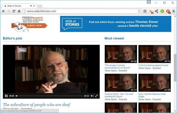 22 webofstories
