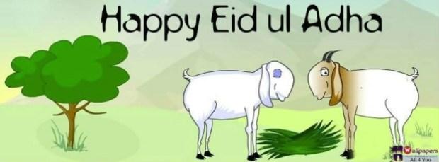 Happy Eid Ul Adha fb cover photos