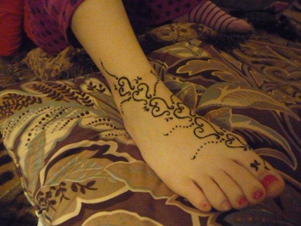 New foot design
