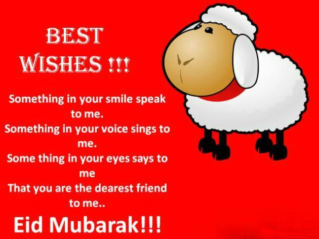 best wishes Eid Mubarak Image
