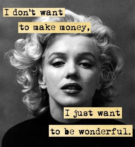 marilyn monroe best quote