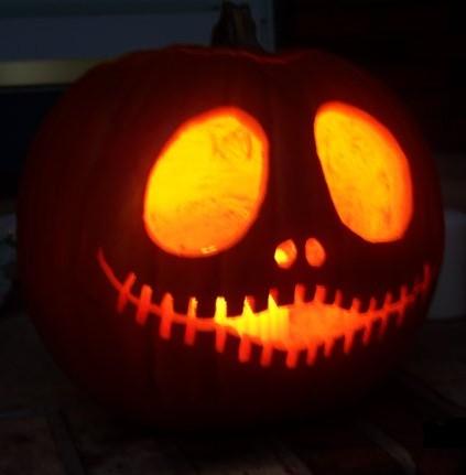 jack the pumpkin king carving idea