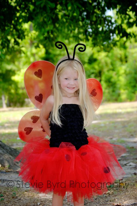 ladybug halloween costume for baby girls
