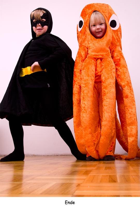 octopus and batman halloween costume for kids