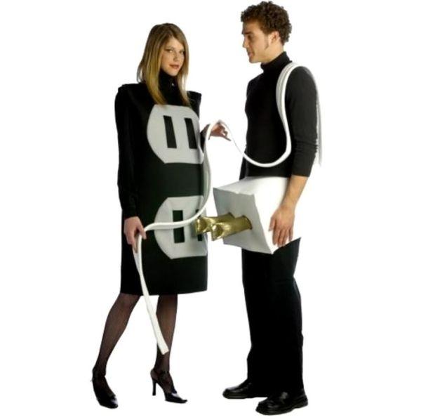 simple funny couple halloween costume