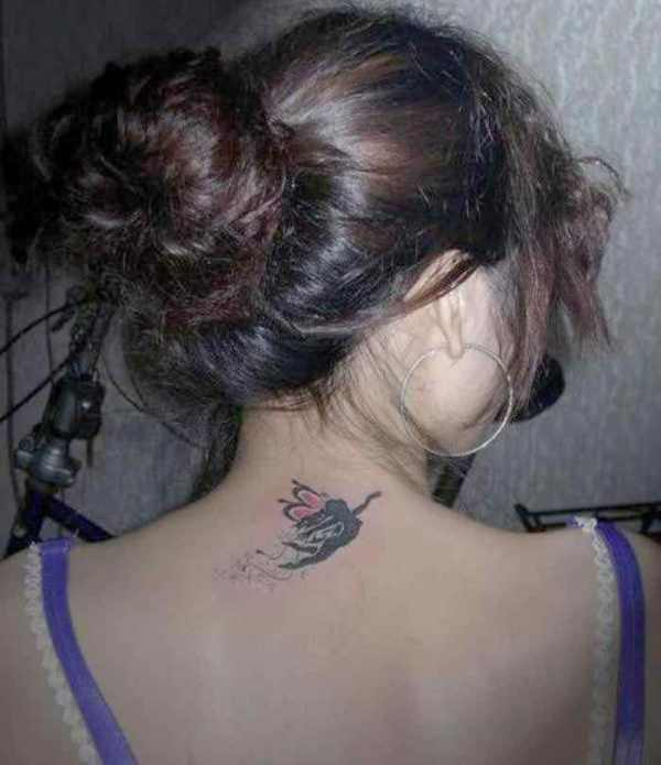 Angel Tattoo For Women