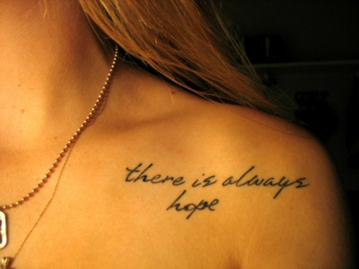 Lettering Text Tattoo Designs for women