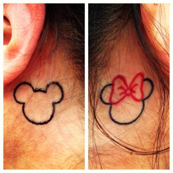 Mickey-Minnie-ink-tattoo-behind-ears