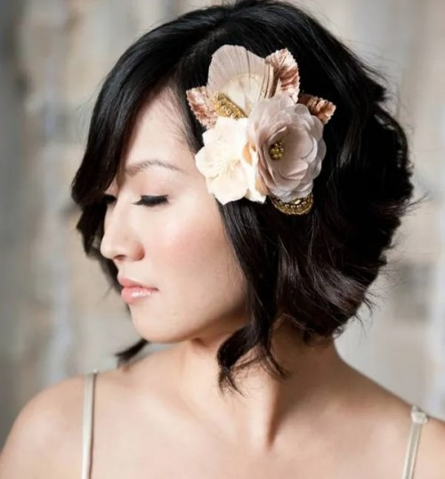 Trendy Flying Locks Wedding Hairstyle