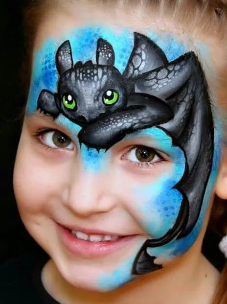 little-dragon-face-paint