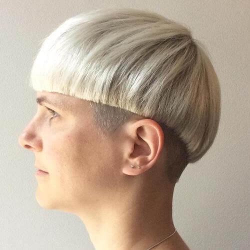 Blunt-end Haircut
