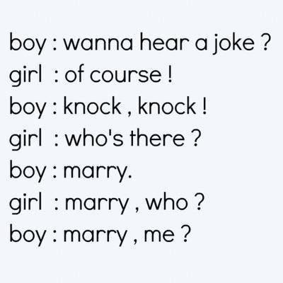 Boy Girl Knock Knock Joke
