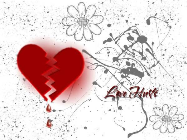 broken heart love hurts
