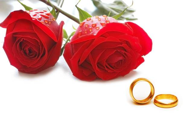 roses and rings