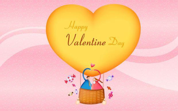 Happy Valentine Day cute wallpaper