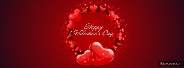 Happy Valentines Day fb cover image