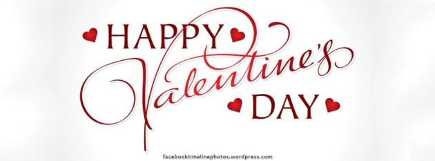 happy valentine's day facebook cover photo