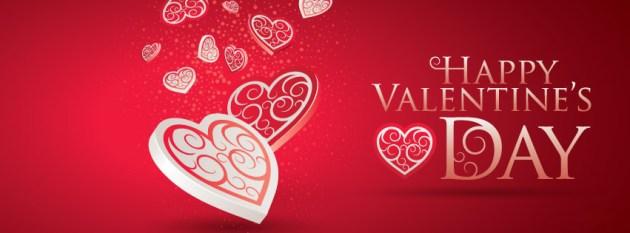 happy valentines day fb cover photo