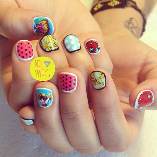 Mix N Match Nail Art