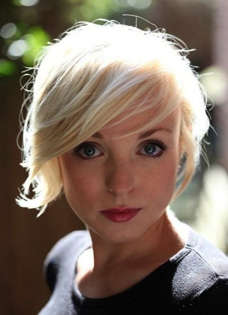 short flipped out bob haircut with fringe