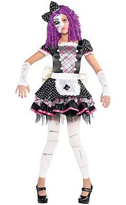 14-Terrifying Halloween Costumes for Girls