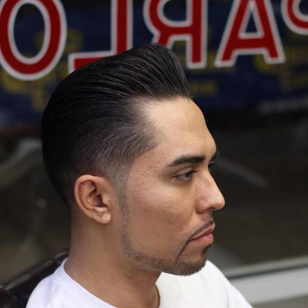15-Slicked Back Hairstyle For Men