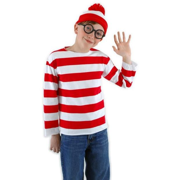 Where's Waldo kids costumes