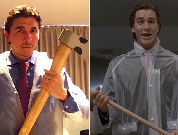 American Psycho cool Halloween Costume for men