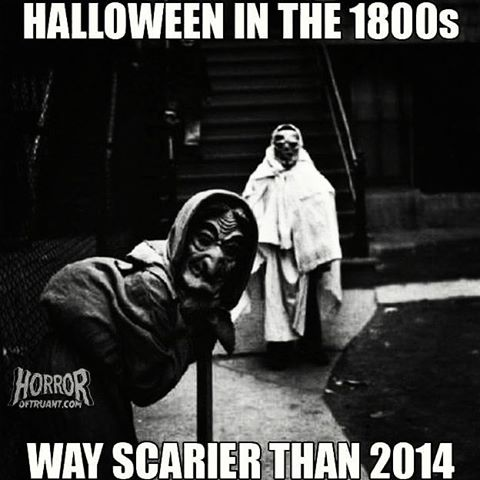 halloween in the old days