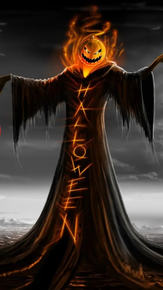 scary-halloween-scarecrow-pumpkin-head-iphone-background