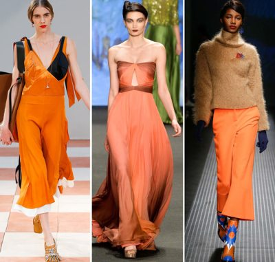 Fall Winter color dresses trends
