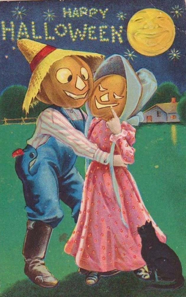 Lovely Vintage Halloween Postcards