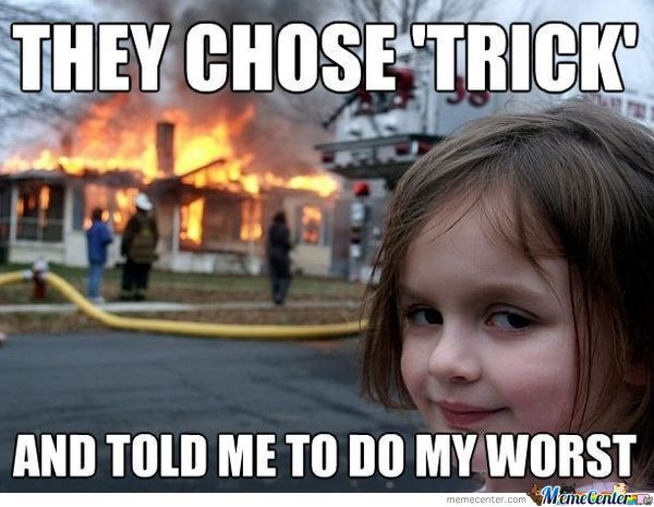 they chose trick