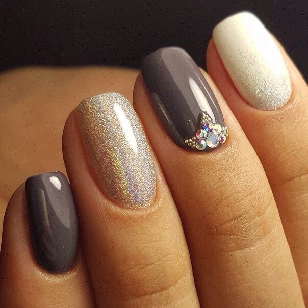 Winter warm toned nail paints
