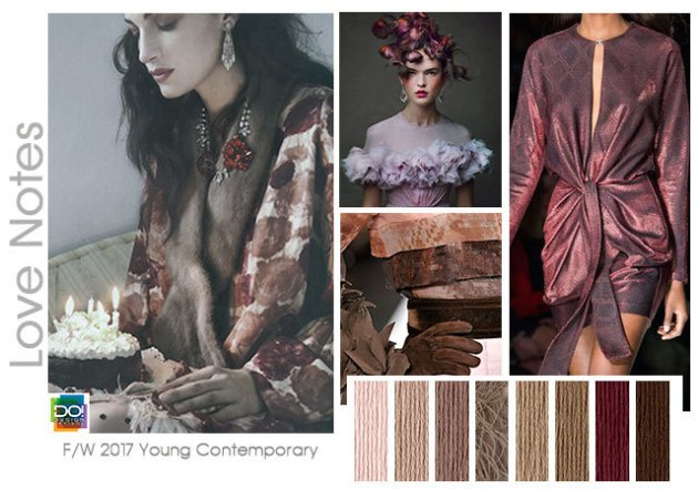 fall winter 2017-2018 colors trends patterns - Love Notes