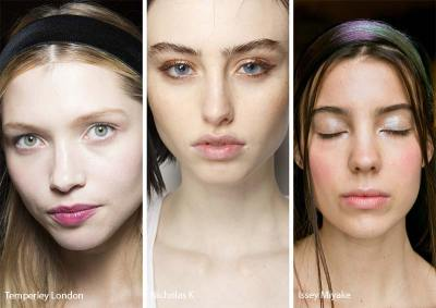 fall winter makeup trends Eyebrows Not Filled In