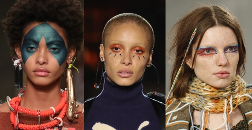 fall winter makeup trends the tribal look