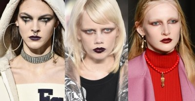 gothic fall winter makeup